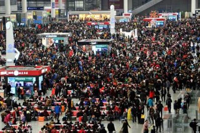 铁路南京站增开119.5对客车 增开南昌、苏北、宁安方向始发临