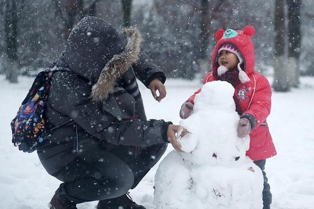 本周江苏有两场强降雪 最强降雪时段是24日夜间到25日