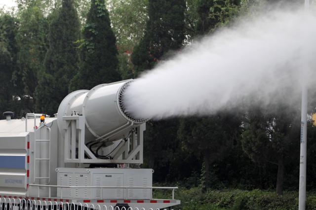 空气质量监测站受人为干扰 省环保厅处理相关责任人