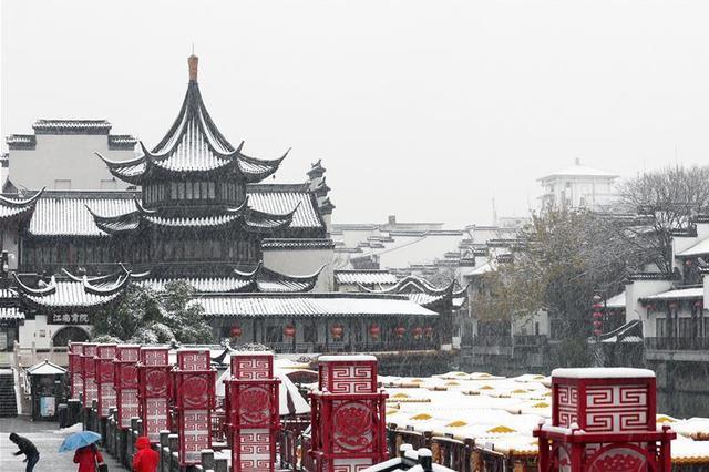 """春节期间江苏景区""""易堵地图""""发布 预计游客接待量将创新高"""