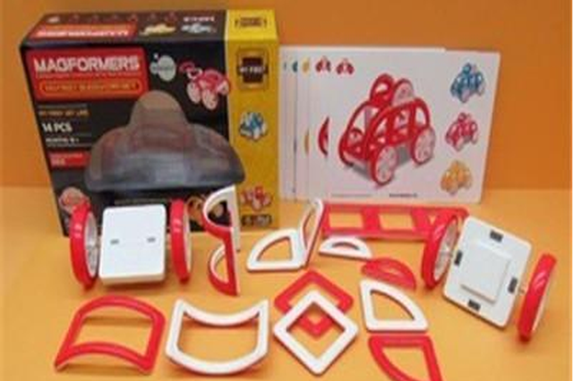 磁性玩具暗藏风险 孩子如误吞磁力块或危及生命