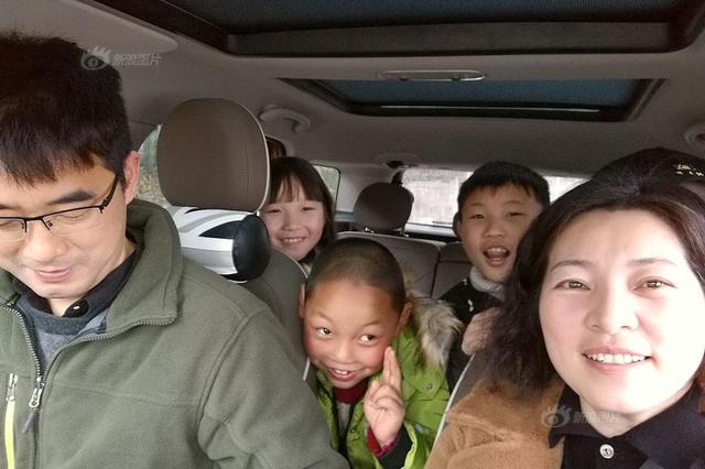 小学女教师自驾1400公里 寒假去贵州家访