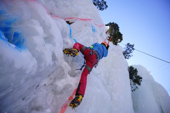 亚泰杯全国攀冰锦标赛即将举行