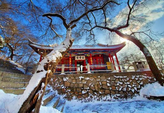 雪后江城 如诗如梦