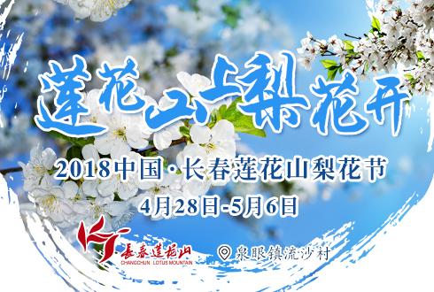 莲花山梨花节将于4月28日开幕