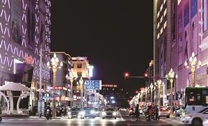 亮化工程照亮城市之美。
