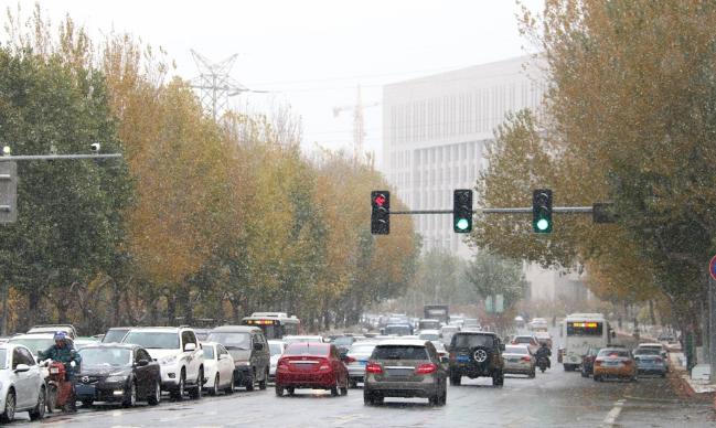 吉林省多地迎雨雪天气