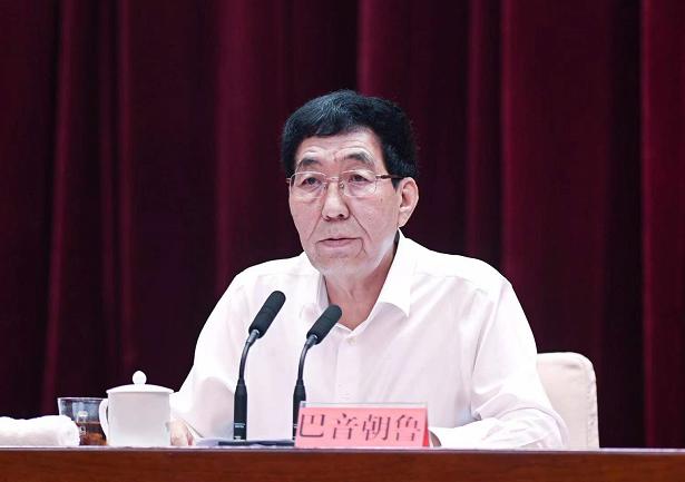 8月18日,全省巡视巡察工作会议在长春召开,吉林省委书记巴音朝鲁出席会议并讲话。宋锴/摄