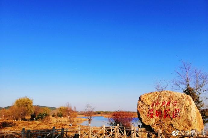 走进净月潭湿地公园 感受秋日美景