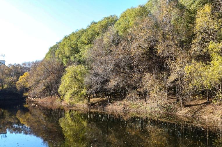 秋水共长天一色 长春水文化生态园
