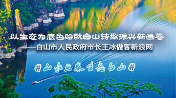 白山市人民政府市长王冰做客新浪网