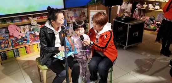 延吉市向阳幼儿园小朋友走进书店让浸润书香伴成长
