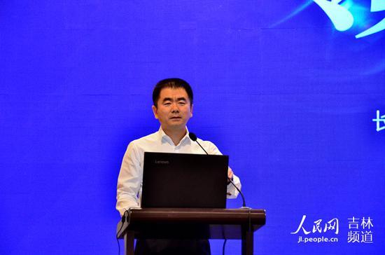 长春市城市发展投资控股(集团)有限公司总经理杜剑致辞。
