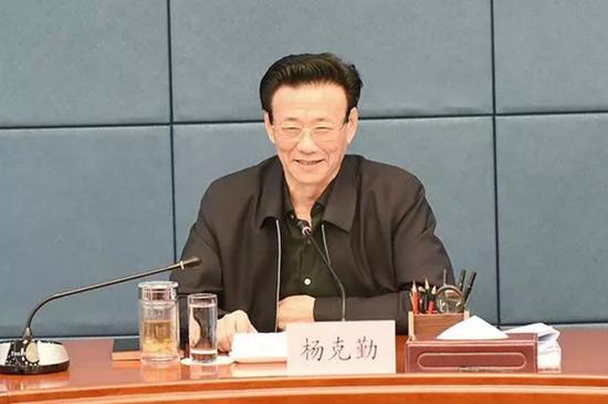 省检察院党组书记、检察长杨克勤参加会议并讲话