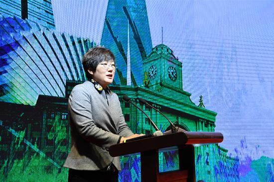 长春市委宣传部副部长刘颖讲话
