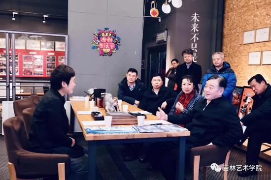 长春市市长刘忻莅临i未来参观指导