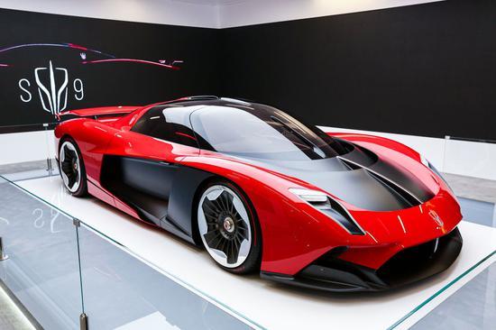 红旗S9超级跑车。(一汽供图)