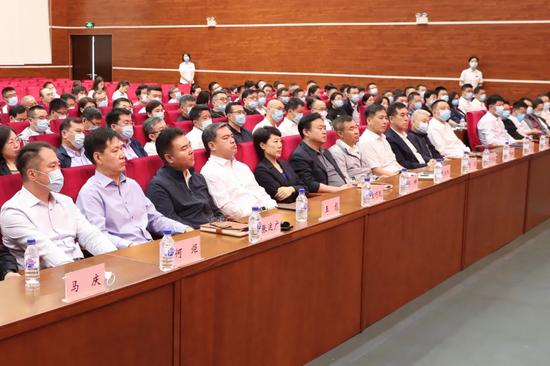 党工委班子成员参加会议。