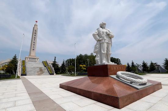 坐落于敦化市的陈翰章烈士陵园。