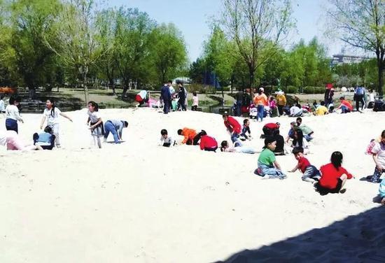 长春世界雕塑园沙雕场