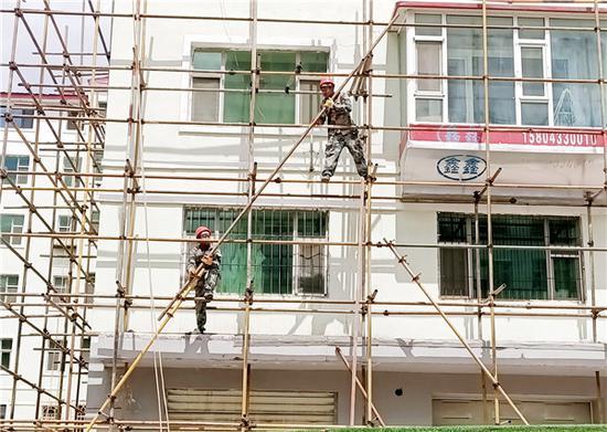 延吉市今年老旧小区改造项目月底全部开工