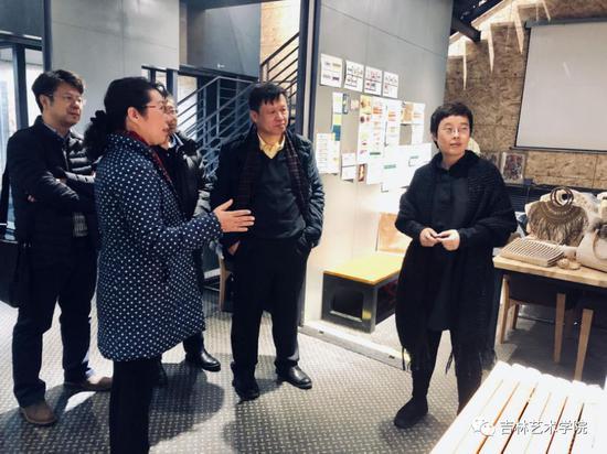 长春市副市长贾丽娜莅临i未来参观指导