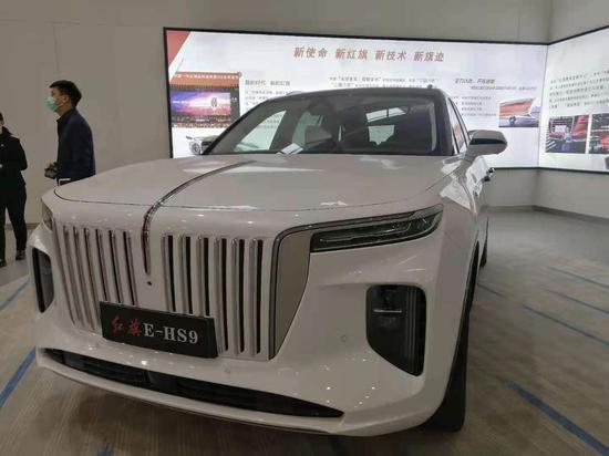 红旗E—HS9车型。新华社记者张建摄