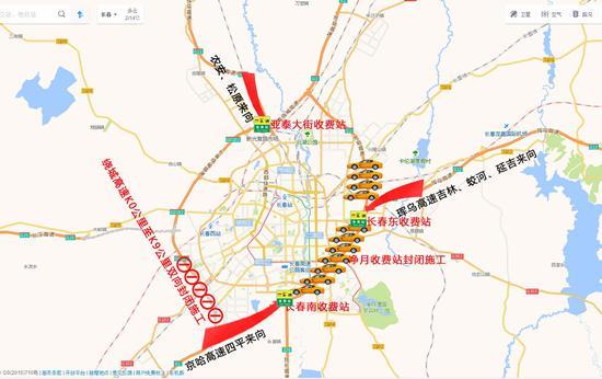鹤大高速路线图图片