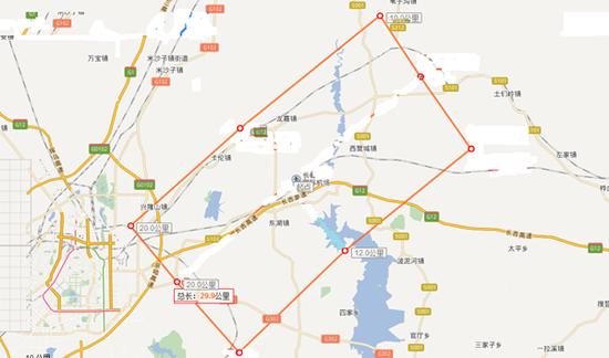 长春机场净空保护区域为跑道两侧各10公里、两端各20公里范围,主要涵盖以下区域: