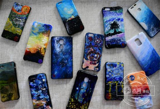 校园网店有望出现学生DIY手机壳