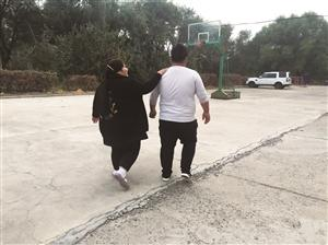 姐弟俩对减肥很有信心。