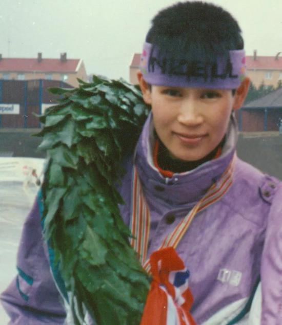 叶乔波获得世界全能桂冠