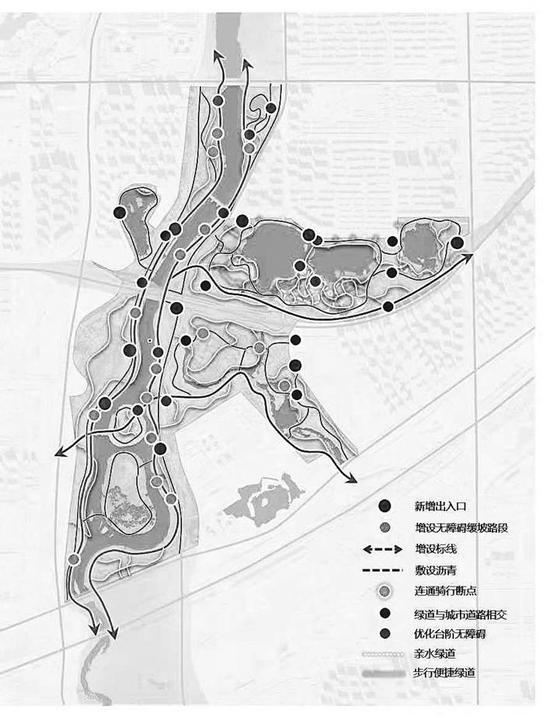 南溪湿地公园完善提升规划效果图。