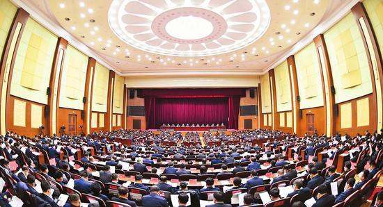 12月25日,吉林省委经济工作会议在长春召开。记者 邹乃硕 摄