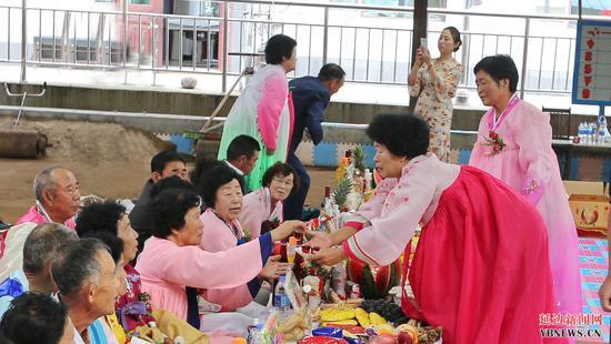 朝鲜族传统花甲礼