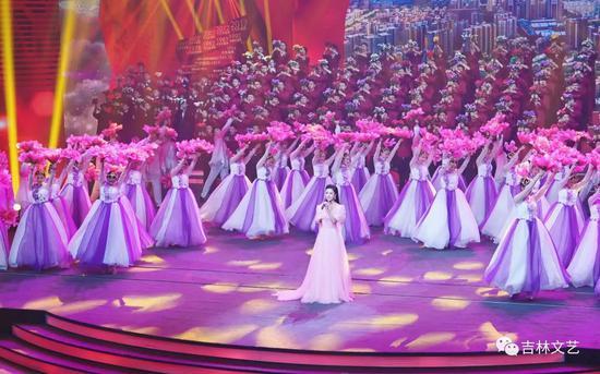 《信仰的力量——吉林省庆祝中国共产党成立100周年专场文艺演出》现场