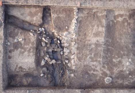 城墙东南转角及排水系统