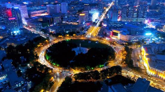 人民广场夜景