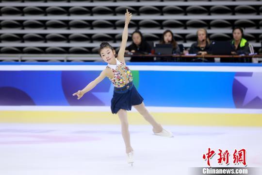 安香怡获精英成年组女单冠军。 主办方 摄