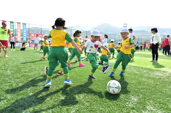 延吉向阳幼儿园入选2019年全国足球特色幼儿园
