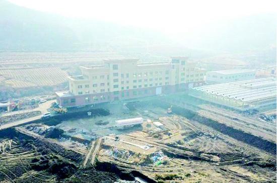 即将投入使用的通化市国防教育培训中心。 记者王达宇摄