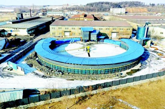 年产3万吨高性能软磁粉末隧道窑节能环保技术改造项目资料图