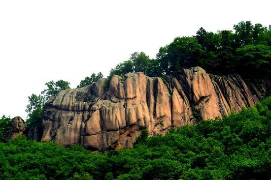 V游延边红石石峰景区登山览胜激情漂流