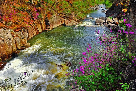 汪清林业局兰家国家级森林公园风光