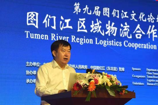 吉林省商务厅副厅长刘乃军致辞