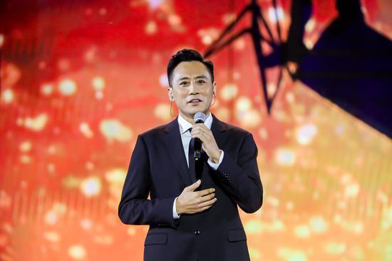 形象大使刘烨现场演讲《光影之梦》