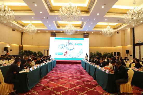 白山市市长马坚带队赴北京开展经贸交流活动