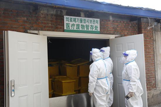 延吉市筑牢生态环境安全防线 紧盯医疗废物处置环节