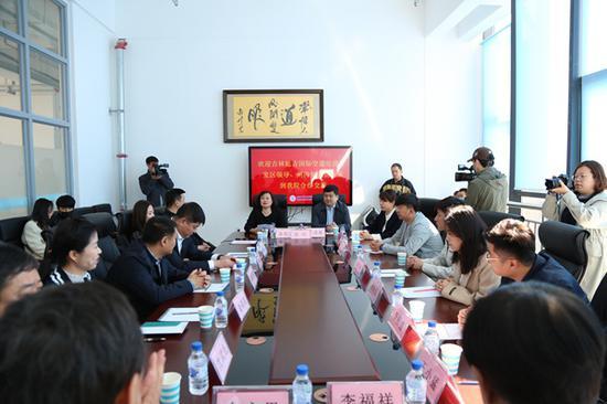 延吉空港区与延边职业技术学院签订战略合作协议