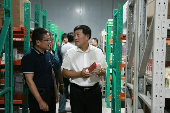 李福祥检查督导企业安全生产工作
